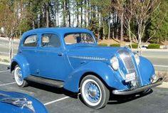 1936 and1937 Hupmobile