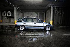 1989 Honda Civic Wagon by Darien Chin, via Flickr