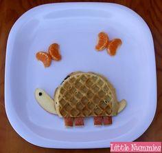 Turtle waffle!