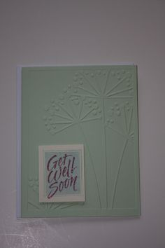 Cuttlebug embossing folder.