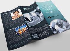 Creativemarket Tri-Fold Brochure Template 14741