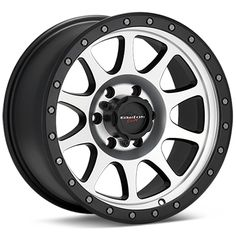 Walker Evans Racing 504 Legacy (Machined w/Black Accent)