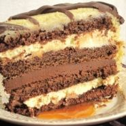 Baileys-Caramel-Irish-Cream-Cake - Complicated but looks amazing.