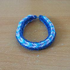 Bracelet elastique en v