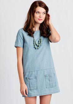 Leah Chambray Dress