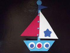 red and blue summer, epsteam by Wanda Elidh on Etsy