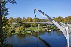 Project: Weinberg Bridge - Federal Garden Show 2015 Havel Region - schlaich bergermann partner