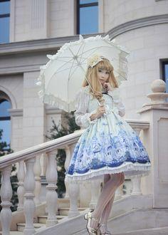 _.-*゚☆君に歌うスターストーリー☆゚*-._           - my-lolita-dress:   –> The perfect place to take...