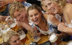 Oktoberfest. – Germany has about 1,300 breweries and 5,000 brands of beer.