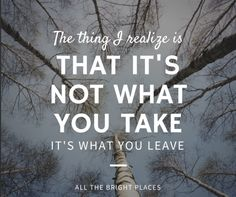 all the bright places ya book quotes 2015 | www.readbreatherelax.com