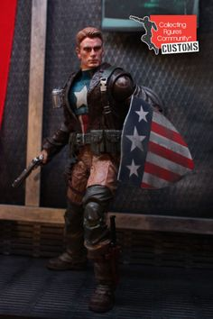 Captain America (Rescue version) (Marvel Select) Custom Action Figure