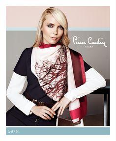 Pierre Cardin Scarf Fall/Winter 2013-14 #scarf