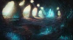 Crystal Cave by Henri Ledesma