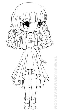 31 Best Chibi Images In 2017 Coloring Pages Coloring Books
