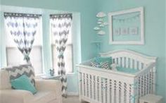 turquoise gray nursery - Bing Images