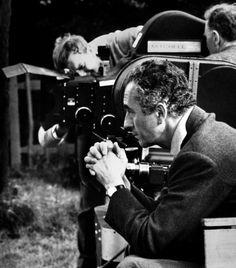 Michelangelo Antonioni while filming Zabriskie Point (1970)