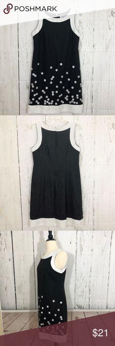 classic fit faf68 7ed7a J Howard Black Polka Dot Sheath Dress Size 6 This is a pretty J Howard  Sleeveless