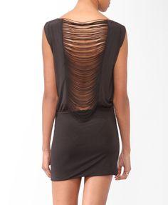 Slashed Back Dress | FOREVER21 - 2000044573