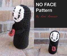 spirited away amigurumi | No Face crochet pattern Spirited Away amigurumi PDF by amiamour