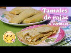 Tamales De rojo y Chile Con Queso - YouTube