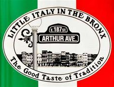 Forget Canal & Mulberry in NYC.  Their 'Little Italy' doesn't hold water next to down home Italian on Arthur Ave.  Italians know it.  New Yorkers?  Eh, they may send you to Canal.  Yet, Arthur Ave is the best place for bread, pasta, meat, pastries & more.  Don't forget to stop in at the Arthur Avenue Retail Market - a kind of covered Italian bazaar that brings together everything Italian.