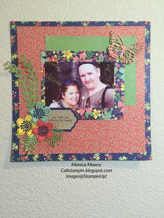 Cali Stampin: Affectionately Yours Layout