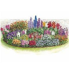 Perrenial Garden Plans this is the site that lists all the plants to buy to create every season blooming. Catholic home and garden