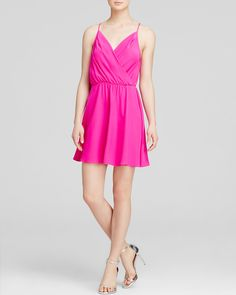 Amanda Uprichard Womens Fifer Top Pink Medium