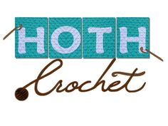 A logo for a crocheting business on Etsy. She does beautiful work, but her shop needed to look a bit more professional and I helped her with that. Email me about designing YOUR logo at depiktdesign@gmail.com. Prices start at oly $40!