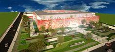 Shopping Praça Americana (em construção) - Americana (SP)