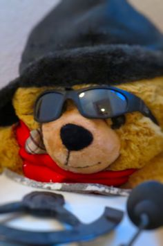 #onefaceaday - 261/365 - CoolBear - shot in a staircase in Switzerland by GrafDal