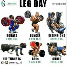 If you're doing a push pull legs split you can go for this leg day workout ! Try it out and tag your friend who hates leg day 😂😂😂 Leg Day Workouts, Weight Training Workouts, Gym Workout Tips, Fitness Exercises, Leg Exercises, Compound Exercises, Street Workout, Tips Fitness, Muscle Fitness