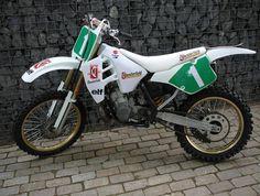 1991- Team Chesterfield Suzuki RM250 ridden by Puzar