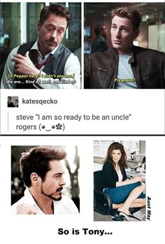 Uncle Steve & uncle Tony