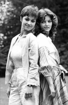Tegan & Nyssa I was into Dr. Who for a time in the 1980's, but I was more a fan of the novelizations. The books were short and swift, while the episode arcs were often long and tedious. I guess I'm just not used to the British sense of pacing!