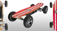 Street Surfer - ELECTRIC SKATEBOARD - All Terrain  SURF THE TURF - OR THE CONCRETE.  Fiik Skateboards has combined outright power and range, with lusty agility. Engineered with high clearances, STREET SURFER plays hard, and long - on-road and off-road. A shorter wheelbase gets you in and out of tight turns, over tricky terrain, and back to a hard-surface ride to your next destination. STREET SURFER is pure fun. Ride the rocket that always finishes fast!