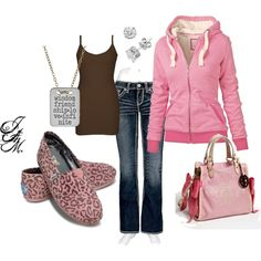 Girls night IN, created by jayneann1809.polyvore.com