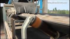 fixed belt conveyor transport raw material for cement