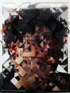 some amazing photographic cut outs by Lucas Simoes Photomontage, Lucas Simoes, Sweet Station, Abstract Portrait, Glitch Art, Gcse Art, Figure Painting, Geometric Shapes, Art Lessons