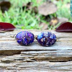 Purple Rings, Purple Jewelry, Cute Jewelry, Women Jewelry, Witch Rings, Witch Jewelry, Wire Wrapped Rings, Beaded Rings, Wire Wrapping