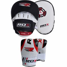 RDX Authentic Curved Hook and Jab Pads - Australia Training Pads, Boxing Training, Sports Equipment, Gloves, Bags, Handbags, Boxing Workout, Bag, Totes