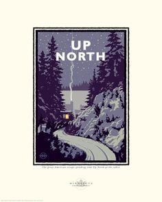 Print - Up North