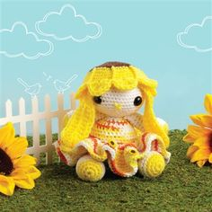 Sunny the Bunny - Crochet Me