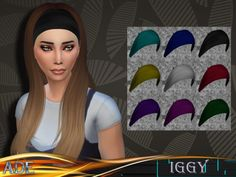 New Hair mesh ll 27 colors with ombre included ll no morph ll smooth bones…