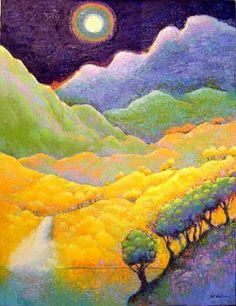 Moon Waterfall ∙ Paintings ∙ R. MICHELSON GALLERIES