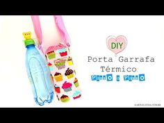 Pouch Tutorial, Blog, Make It Yourself, Homesteading, Youtube, Crafts, Crafts For Children, Craft Ideas, Water Bottles