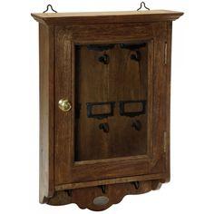boite cl s shabby chic armoire cl s en bois murale. Black Bedroom Furniture Sets. Home Design Ideas