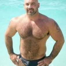 The REAL deal - Muscle Bear in genuine Speedo brief.