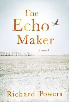 The Echo Maker by Richard Powers.  Pulitzer Prize finalist 2007.  Twenty-seven-year-old Mark Schluter, suffering from a rare brain disorder that causes him to believe his sister to be an impostor, endeavors to discover the cause of the motor vehicle accident that resulted in his head injury.