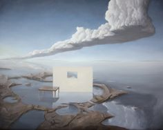 "Saatchi Online Artist: Egmont Hartwig; Oil, 2011, Painting ""Intercoastal"""